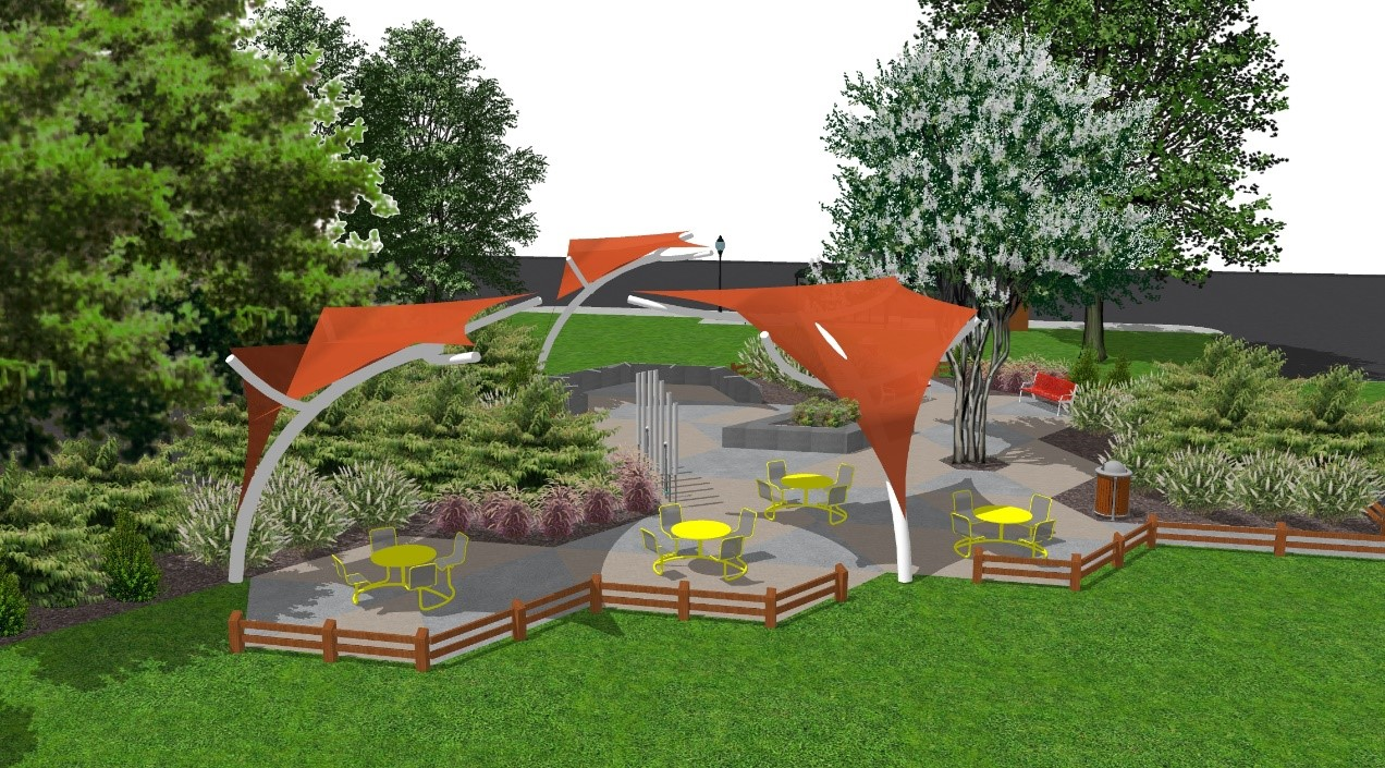 Bailey's Urban Interim Park Rendering