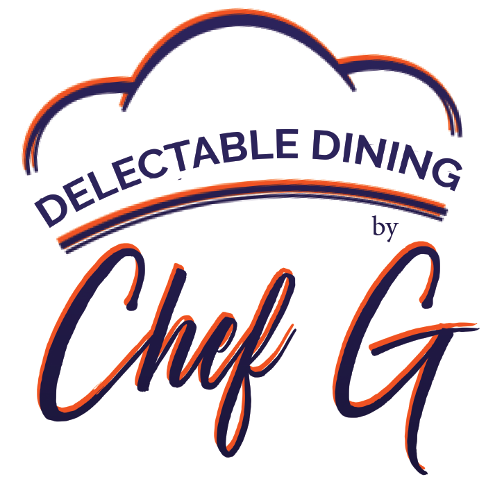 Delectable Dining by chef Gail Logo