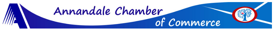 Annandale Chamber of Commerce Banner