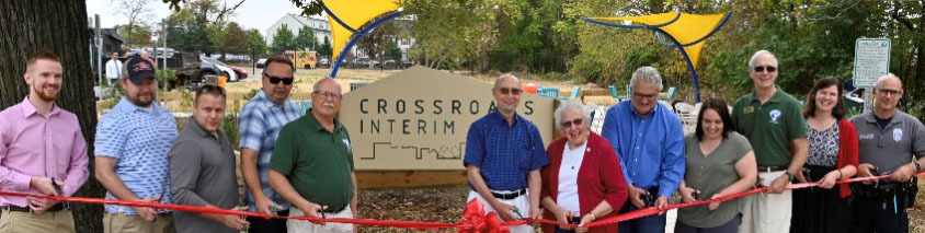 Bailey's Crossroads Interim Park Ribbon Cutting